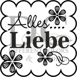 Different Colors SD00191 Alles Liebe Ornament