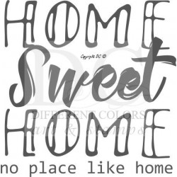 Different Colors S00557 Home Sweet Home