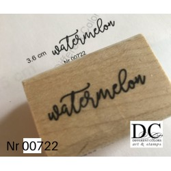 Different Colors S00722 Watermelon Text