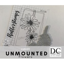 Different Colors SU00756 Flower Lies (unmounted)