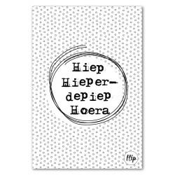 DC Hip geurzakjes Nr 07 Hiep Hieperdepiep Hoera