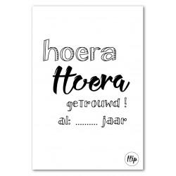 DC Hip geurzakjes Nr 38 Hoera Hoera getrouwd! ... jaar