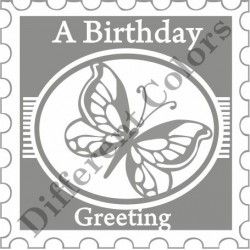 Different Colors S00148 Stamps A Birthday