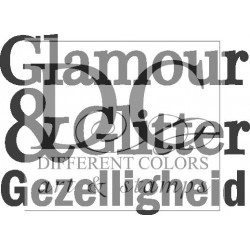 Different Colors S00270 Glamour & Glitter