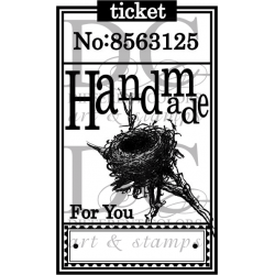 Different Colors S00365 Ticket Handmade