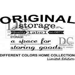 Different Colors S00404 Storage Label