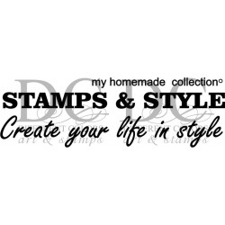 Different Colors SE00406  Stamps & Style Homemade Collection