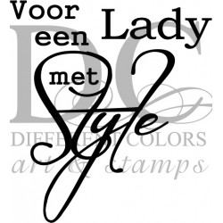 Different Colors S00421 Een Lady met Style