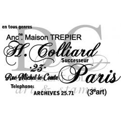 Different Colors S00423 H.Colliard Paris
