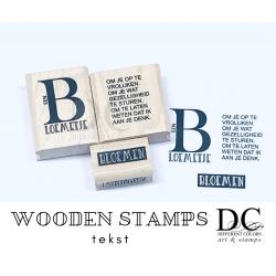 Different Colors S00905 Letter B Bloemen