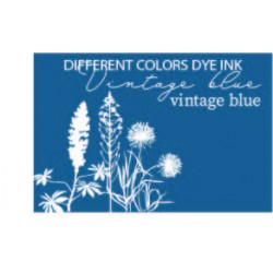 Different Colors Dye inkpad Vintage Blue