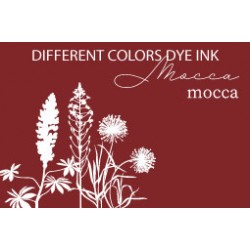 Different Colors Dye inkpad Mocca