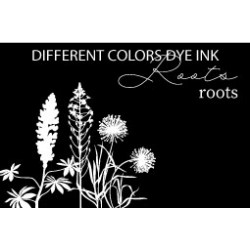 Different Colors Dye inkpad Roots