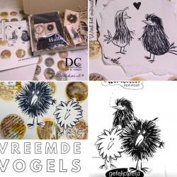 100.  I  Workshoppakket  Vreemde Vogels