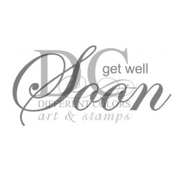 Different Colors SE00221 Get Well Soon Long text