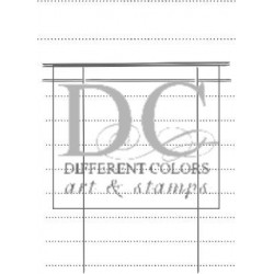 Different Colors S00276 Vintage Label