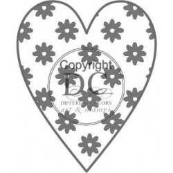 Different Colors S00282 Warm Flower Heart