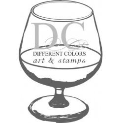 Different Colors S00325 Cognac Glas