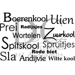 Different Colors S00328 Boerenkool Uien