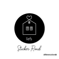 Nr 15. Sticker Huisjes