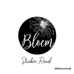 Nr 34. Sticker Bloem