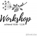Workshop Ochtend,Middag.