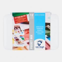 Talens Pocketbox  12 +3 Napjes gratis  en penseel