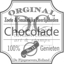 Different Colors S00242 Label Chocolade
